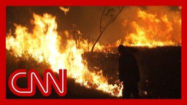 Communities struggle to battle Amazon rainforest fires 6