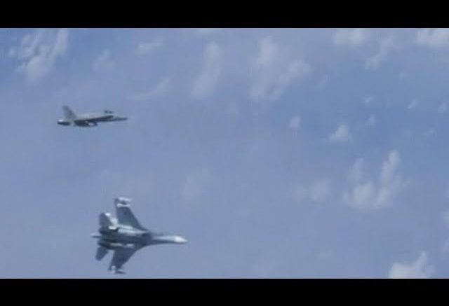 Russia claims a NATO jet buzzed defence minister's plane 1