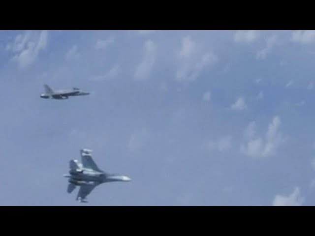 Russia claims a NATO jet buzzed defence minister's plane 2