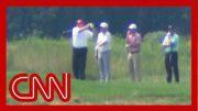 Trump went golfing as Hurricane Dorian threatens US 2