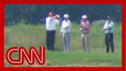 Trump went golfing as Hurricane Dorian threatens US 6