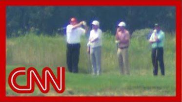 Trump went golfing as Hurricane Dorian threatens US 8