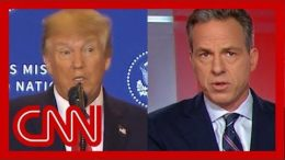 Jake Tapper: First, let's note, Trump said a lot of things that aren't true 5