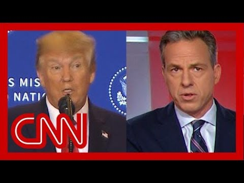 Jake Tapper: First, let's note, Trump said a lot of things that aren't true 1