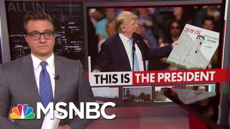 President Donald Trump Diverts Money For Schools To Build Wall | All In | MSNBC 1