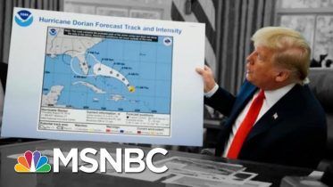 Day 958: President Donald Trump, Hurricane Dorian... And A Sharpie | The 11th Hour | MSNBC 2
