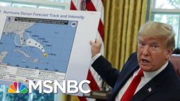 Oval Office Hurricane Map Causes Controversy | Velshi & Ruhle | MSNBC 5