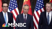 U.S. And China Say They'll Resume Trade Talks | Velshi & Ruhle | MSNBC 5
