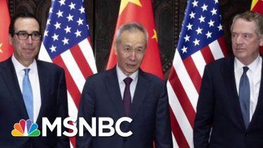 U.S. And China Say They'll Resume Trade Talks | Velshi & Ruhle | MSNBC 7