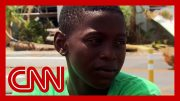 Young Hurricane Dorian survivor saw a woman get swept away with her baby 2