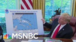 Mystery Marker: Trump Eyed In Hurricane Dorian Map Cover Up | The Beat With Ari Melber | MSNBC 7