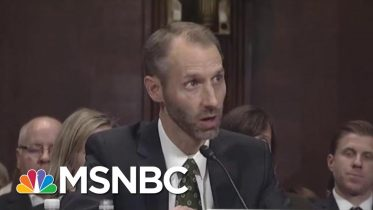 He Didn't Make At As Judge, But Now This Former FEC Commissioner Is Switching Sides   All In   MSNBC 6