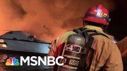 Coast Guard Rescuing Dozens In Potential 'Major Incident' On Boat Near Santa Cruz Island | MSNBC 5