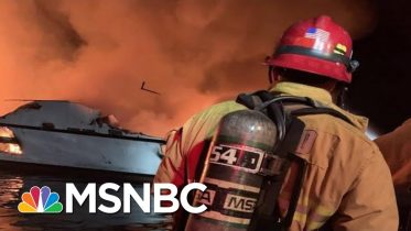 Coast Guard Rescuing Dozens In Potential 'Major Incident' On Boat Near Santa Cruz Island | MSNBC 6