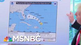 Joe: President Donald Trump Just Can't Say He's Sorry Over Hurricane Map | Morning Joe | MSNBC 4