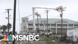 Hurricane Dorian Makes Landfall At Cape Hatteras, NC | Velshi & Ruhle | MSNBC 7