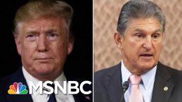 President Donald Trump And Joe Manchin Meet To Discuss Gun Legislation   Hallie Jackson   MSNBC 8