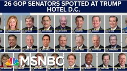 Republicans Didn't Go To Trump Hotels Until He Became POTUS | The Beat With Ari Melber | MSNBC 2