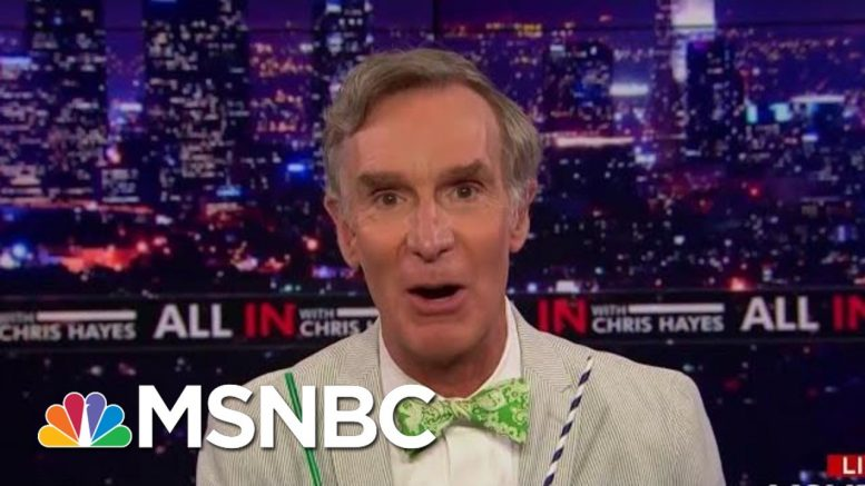 Bill Nye And The Climate Crisis | All In | MSNBC 1