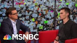 David Hogg On The Changing Gun Debate | All In | MSNBC 8
