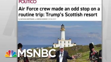 House Probes Military Travel To Troubled Trump Resort: Politico | Rachel Maddow | MSNBC 6