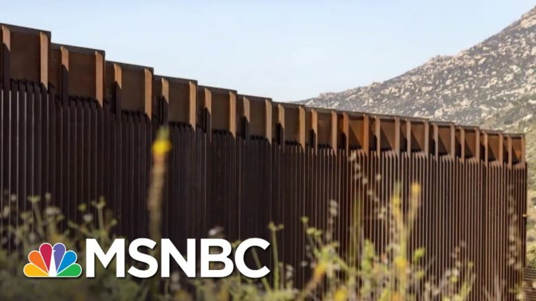 Pentagon Takes Money From Military Schools, More For Border Wall | MSNBC 1
