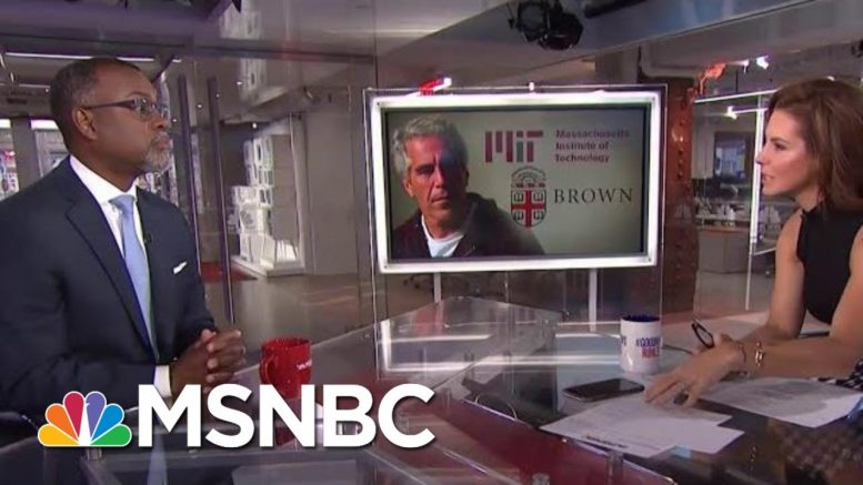 Top MIT Official Resigns Over Epstein Donations Scandal | Velshi & Ruhle | MSNBC 1