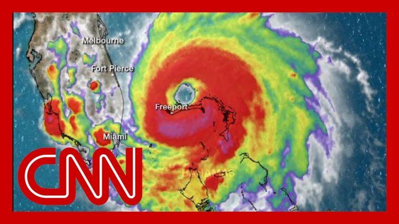 Hurricane Dorian stalls over the Bahamas 1