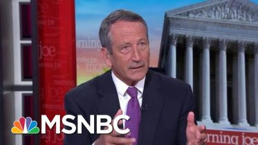 Mark Sanford: We Need To Talk About What Being GOP Means | Morning Joe | MSNBC 10