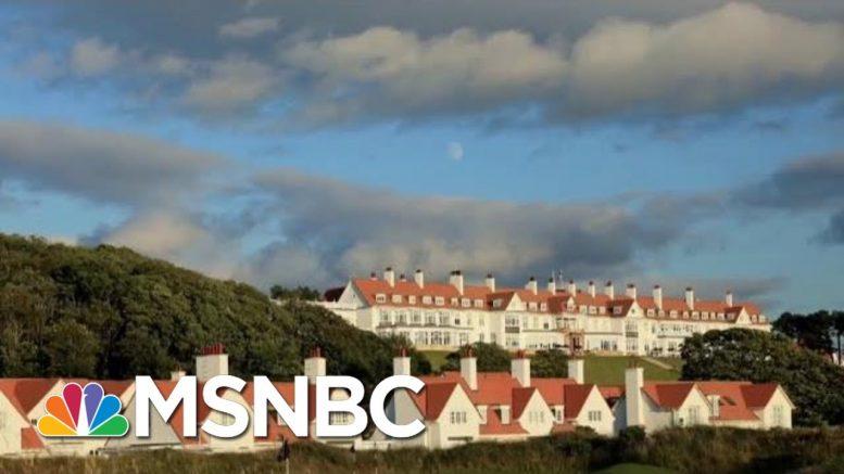 Why Did Air Force Crew Stop At President Donald Trump Scottish Resort? | Morning Joe | MSNBC 1