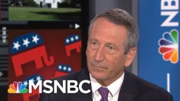 WATCH: Sanford Responds For First Time On-Air Since Trump's Twitter Attack | Craig Melvin | MSNBC 7
