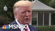 President Donald Trump: Taliban Peace Talks Are 'Dead' | MSNBC 4