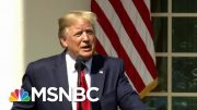 President Donald Trump Floats, Then Scraps Secret Taliban Peace Talks | Deadline | MSNBC 5