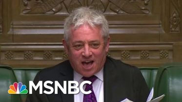 UK Parliament Loses 'Order' As They Shut Down For 5 Weeks | All In | MSNBC 6
