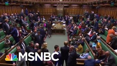 British Parliament Suspended After Trump-Backed PM Defeated Again   The Last Word   MSNBC 6