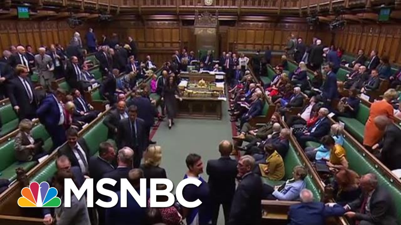 British Parliament Suspended After Trump-Backed PM Defeated Again | The Last Word | MSNBC 4