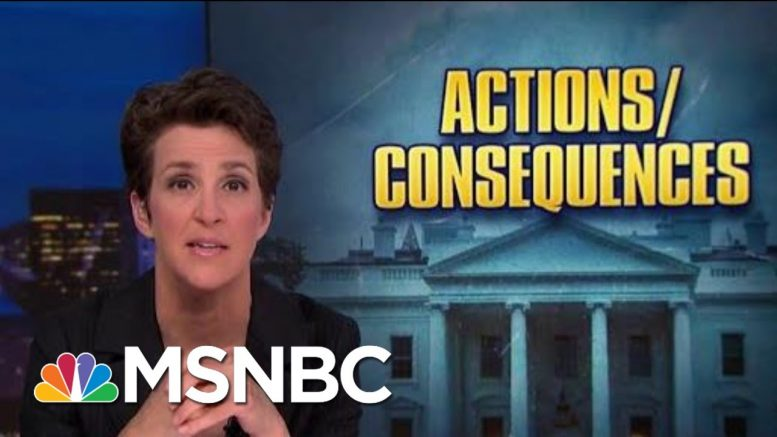 Roiled By Trump Politics, NOAA Seeks Accountability, Atonement | Rachel Maddow | MSNBC 1