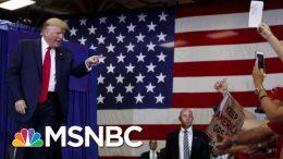 President Donald Trump Paints Bleak Picture At North Carolina Rally | Morning Joe | MSNBC 1