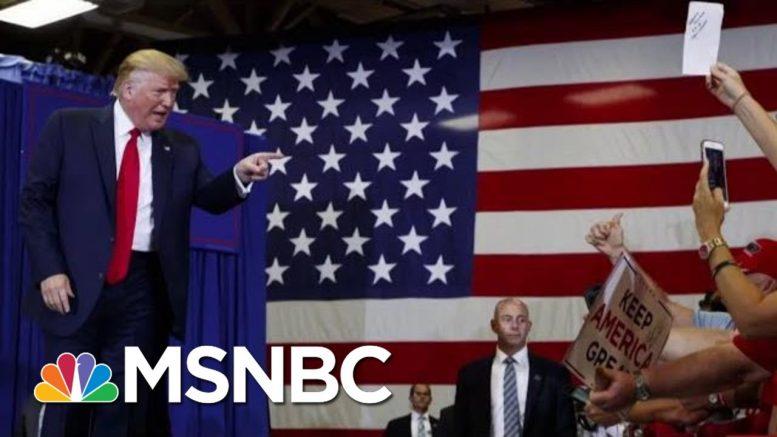 President Donald Trump Paints Bleak Picture At North Carolina Rally   Morning Joe   MSNBC 1