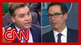 Mnuchin to Jim Acosta: That's the most ridiculous question 7