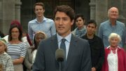 Justin Trudeau's full remarks on election call 3