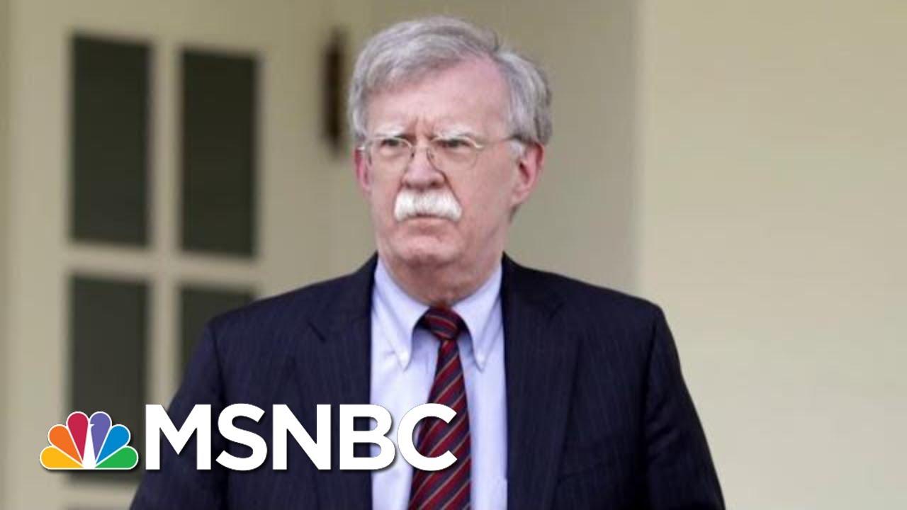 Trump Fires National Security Adviser John Bolton | Andrea Mitchell | MSNBC 1