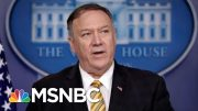 Mike Pompeo On John Bolton Firing: Trump 'Entitled To Staff That He Wants' | Velshi & Ruhle | MSNBC 5