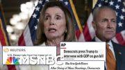 Returning From Recess, Dems Press Trump For Action On Gun Control | Hardball | MSNBC 4
