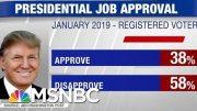 New Polls: Trump's Approval Rating Slipping | Hardball | MSNBC 5