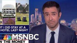 House Dems Threaten Pentagon Subpoenas For Trump Resort Spending | The Beat With Ari Melber | MSNBC 1