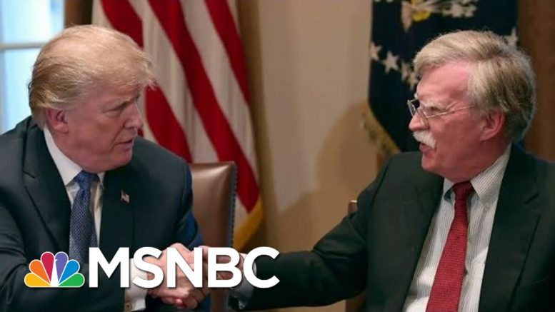 Controversial Trump Aide John Bolton Exits WH Knocking Trump | The Beat With Ari Melber | MSNBC 1