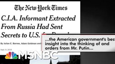 Sen. Chris Murphy On President Donald Trump's Problem With Spies | All In | MSNBC 6