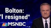Intel Chair Schiff: Bolton Should Have Never Been National Security Advisor | The Last Word | MSNBC 2