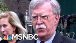 President Donald Trump Has A New 'Ex' As Bolton Extends Ignominious Record | Rachel Maddow | MSNBC 1